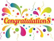 Congratulations Seniors on your College Acceptances!