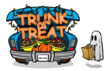 Trunk-Or-Treat:  Friday, October 25th