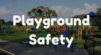 Winter Playground Safety