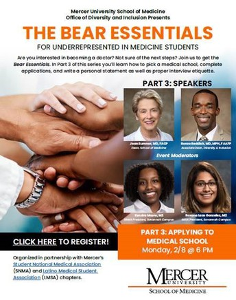 Mercer University School of Medicine Admission Panel