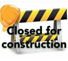 Bathroom Construction Begins Tuesday!
