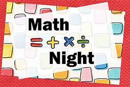 Make and Take Math Night
