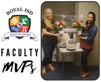 Royal STEM Academy November Faculty MVPs