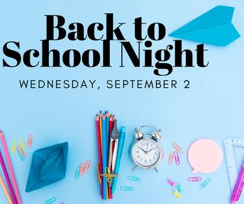Noche de regreso a la escuela