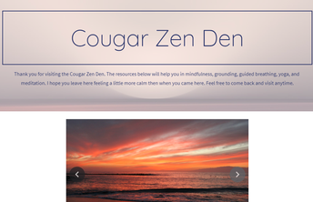 Cougar Zen Den