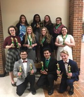 Mexico Speech Team receives multiple awards at the Rockbridge Invitational Saturday, February 18th, 2017.
