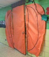 2nd Grade Fall Door