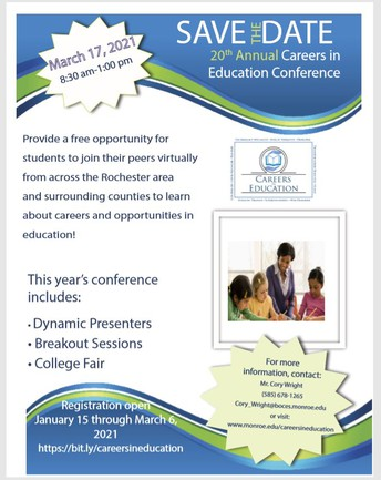 Career in Education Virtual Event!
