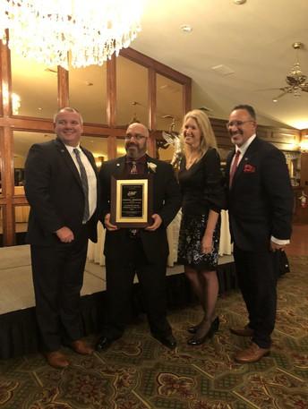 WMS Principal Gordon Bernstein receives Middle School Principal of the Year Award