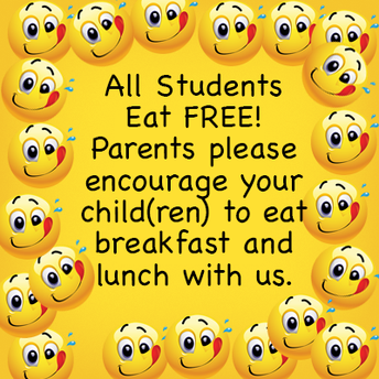 REMINDER THAT BREAKFAST AND LUNCH MEALS ARE FREE THROUGH DECEMBER 31
