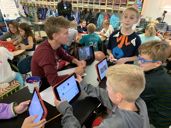Students Play a Part in Johnson's Future