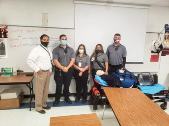 Mr. Castro and Luling EMS
