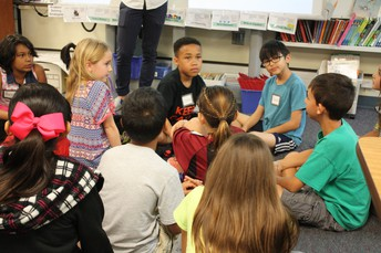 3rd Grade Students Learn French