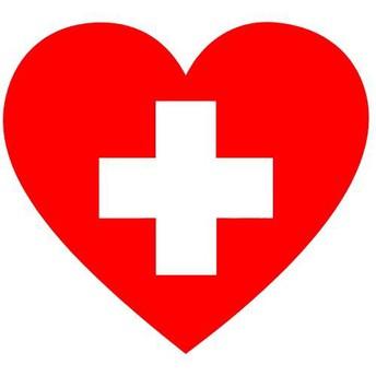 Heart with cross inside