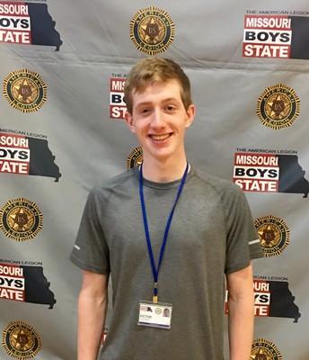 Victor Duchscherer Attends Missouri Boy's State