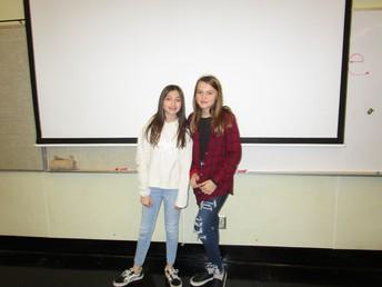 2nd Place - Madilyn Starsiak and Olivia Lawrence/TikTok Dance