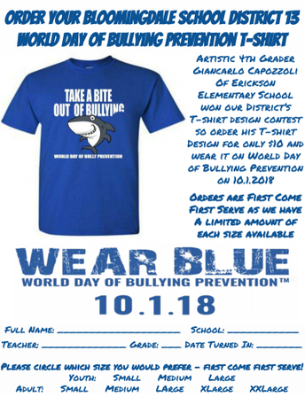 Order You Bullying Prevention T-Shirt