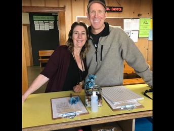 Thank you Mr. Scott Cory for visiting last Friday! (Chester principal legened in the early 2000's - pictured with our wonderful Ms. Nicole!)
