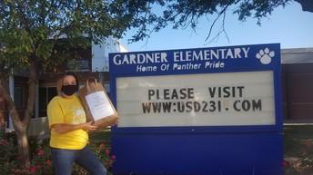 Gardner Elementary Mask Donation
