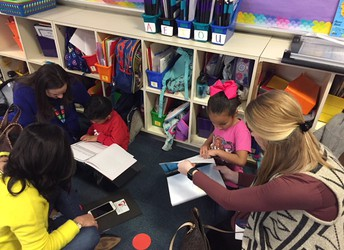 Guests Visited Classrooms to Learn More About Our Wildly Important Goals!