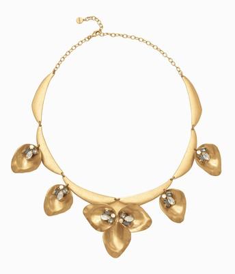 Dannika floral statement necklace