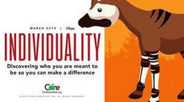 Character Trait of the Month:  INDIVIDUALITY