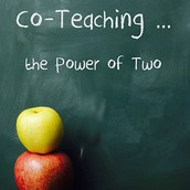 How does co-teaching with staff look?