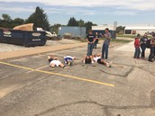 Solar Eclipse Viewing by High Schoolers