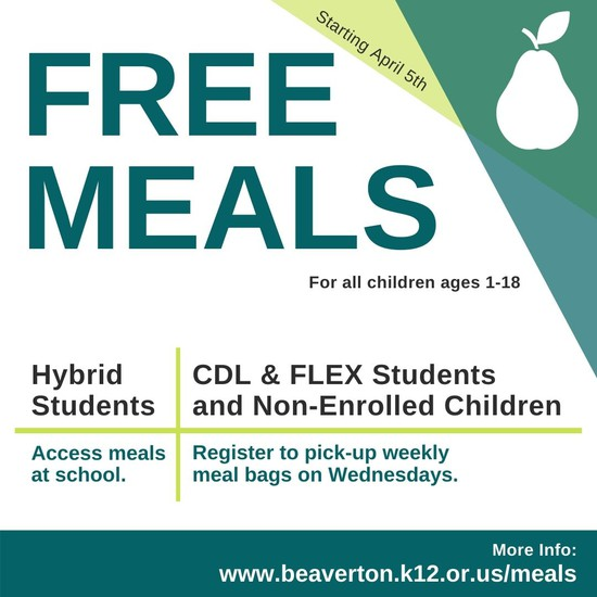 English version free student meals