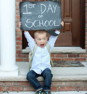 Call for First Day of School Photos