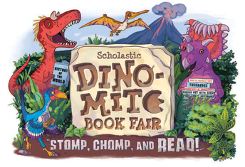 We had a Dino-Mite time at the Book Fair!