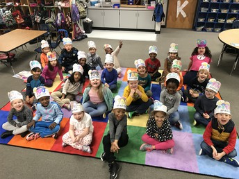 100 Days Brighter Hats!