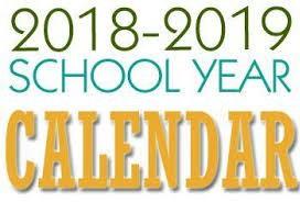 District School Calendar