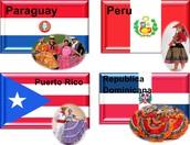 PARAGUAY, PERU, PUERTO RICO, REPUBLICA DOMINICANA