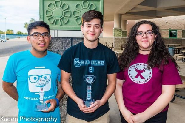 First Lego League Regional Award Winners
