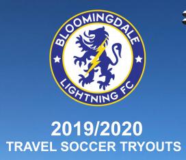 Bloomingdale Lightning FC Soccer