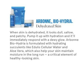 Bio-Hydria for Dehydrated Skin