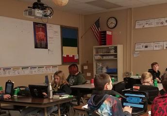 Students Using HyperDoc