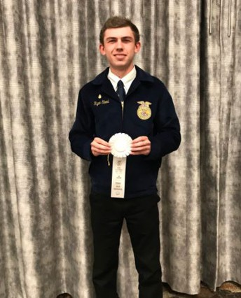 Poway High School FFA Students at State Finals