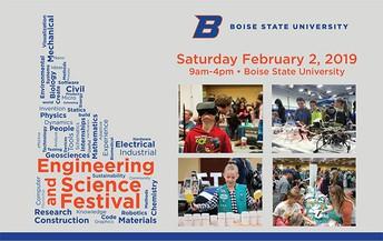 ENGINEERING AND SCIENCE FESTIVAL (STEM EXPLORATION), Saturday, FEB 2, 2019