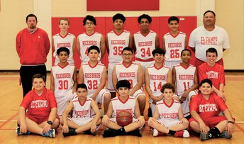 8th Boys Basketball Team wins District Title