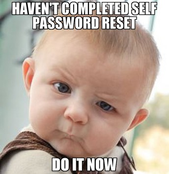 Don't forget to update your District Password