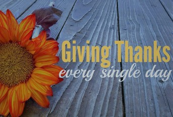 Giving Thanks for YOU!