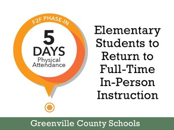 GCS to return elementary students to full-time in-person instruction