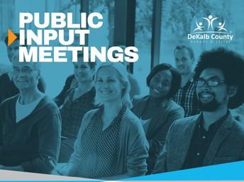 "E-SPLOST ""GO"" Bond Public Meetings"