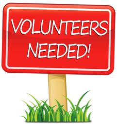 February Deadline - Ms. Dunn Needs Volunteers!