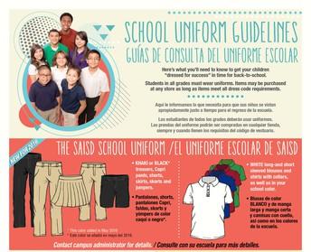 Accepting School Uniform Donations