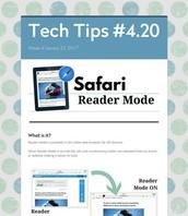 Safari Reader Mode