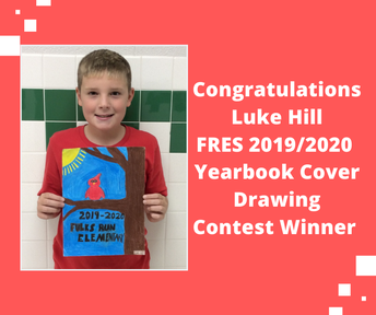 Picture of Luke Hill Yearbook Cover Contest Winner