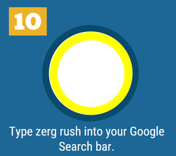 10. Zerg Rush